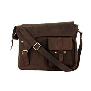 Hunky messenger bag by Zunash