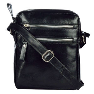 Zunash  genuine leather cross body sling bag