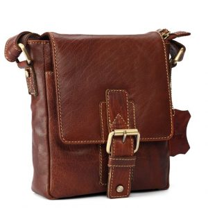 zunash pilot leather bag