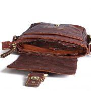 zunash leather pilot bag