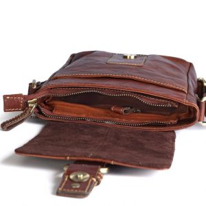 zunash leather pilot bag