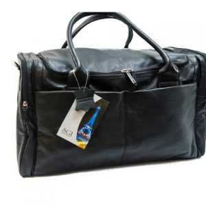 Zunash Leather Duffle Bag