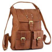Zunash Nomad Leather Backpack