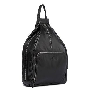 ZUNASH Women's Stylish Backpack (Black)