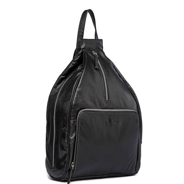 ZUNASH Women's Stylish Backpack (Black)