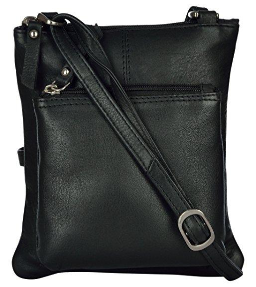 zunash leather women handbag