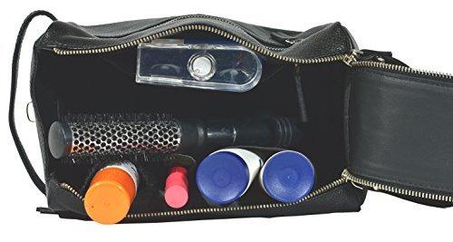 Zunash Genuine Leather Premium Quality Toiletry Bag
