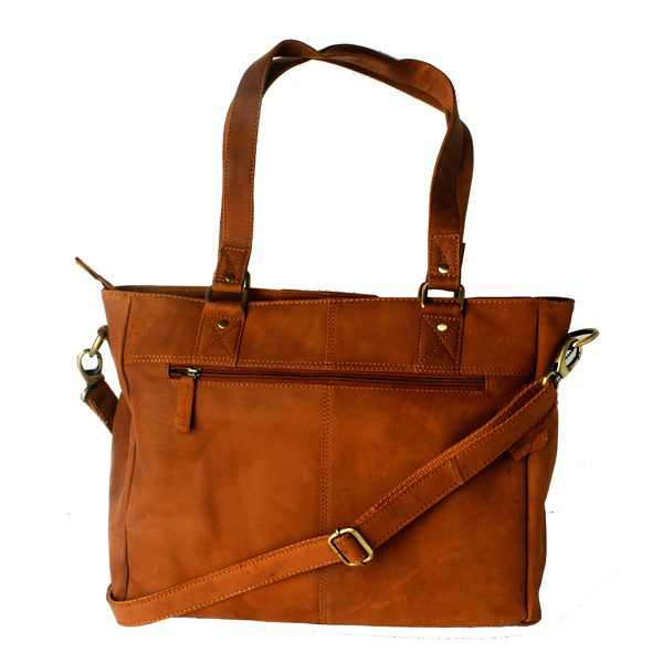 Noha Leather Ladies Bag Brown