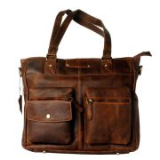 9bb0bb1bd3 Noha Leather Ladies Bag Dark Brown – www.zunash.com