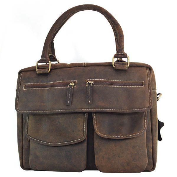 Zunash cowboy unisex leather bag