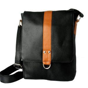 Zunash Leather side sling bag