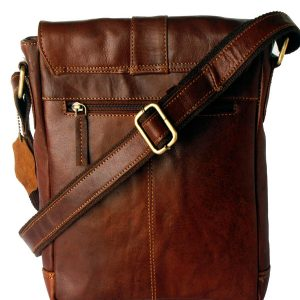 Zunash Side Sling bag- Brown Unisex