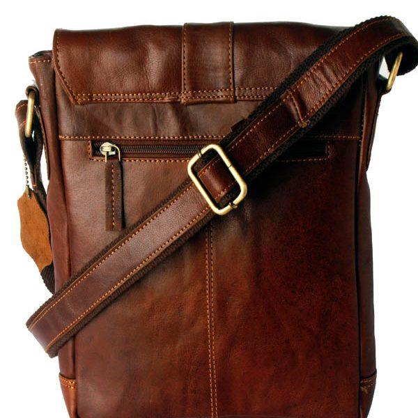 Zunash Side Sling bag- Brown Unisex