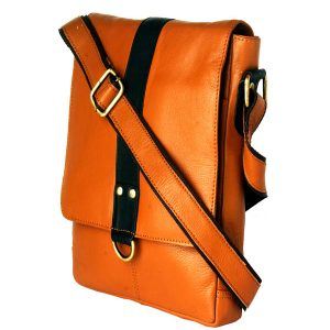 zunash leather sling bag