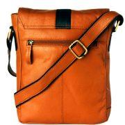zunash leather sling side bag