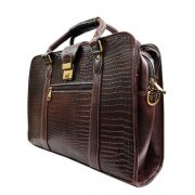 Zunash Sherlock leather Briefcase bag