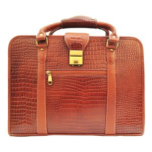 Zunash Sherlock leather Briefcase bag
