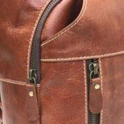 zunash Leather chest shoulder