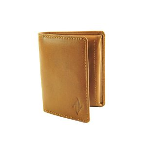 Zunash Leather Card Puller Brn