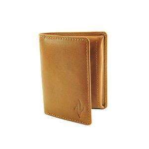 Zunash Leather Card Puller Brn