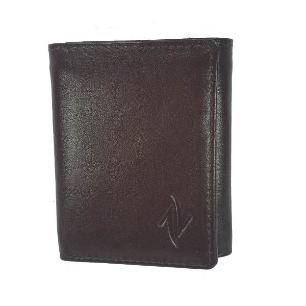Zunash Leather Trifold Wallet