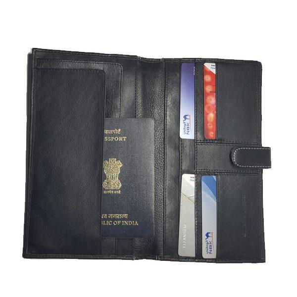 Zunash leather Passport Set