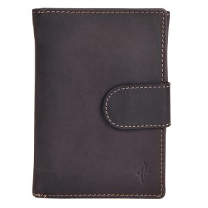 Zunash Leather Notebook Wallet