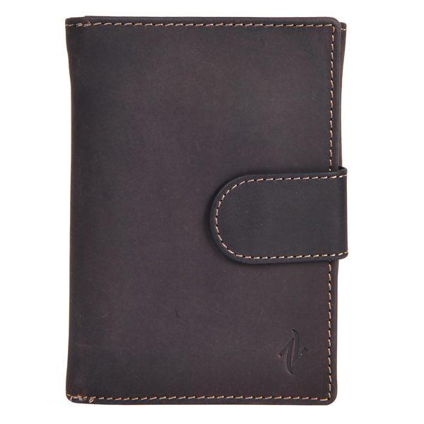 Zunash Leather Notebook Wallet