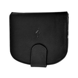 Zunash Ladies leather Zipper Wallet-BK