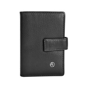 AZO-Leather card holder Book