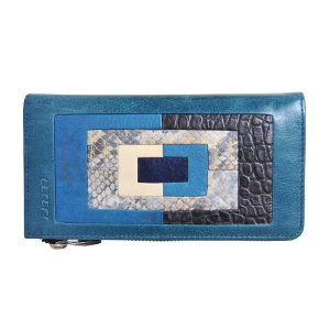 LRF Leather Desginer Clutch -BL