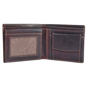 Zunash LRF Leather Wallet -BN