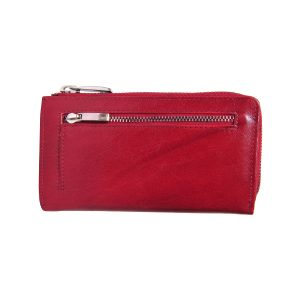 Zunash LRF Leather Desginer Clutch SM - RED