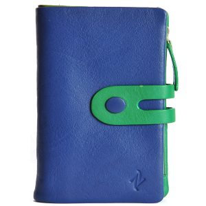 Zunash leather Clutch Blue