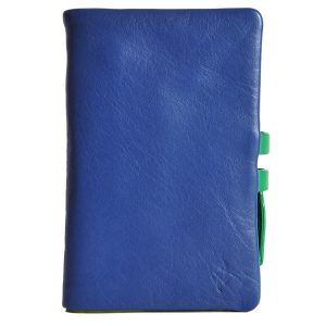 Zunash leather Clutch Blue