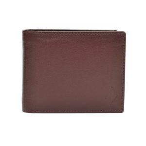 Zunash Leather Nappa wallet brown