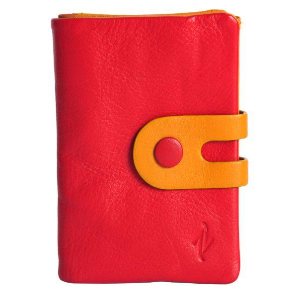 Esme Leather Keychain wallet-RD