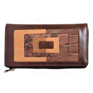 LRF Leather Desginer Clutch-BN
