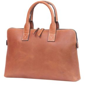 Zunash Leather Laptop Sleeve Bag