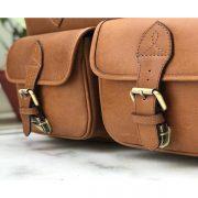 Zunash Overnight Travel Bag -Tan