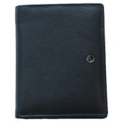 Zunash Leather Unisex Notebook Wallet