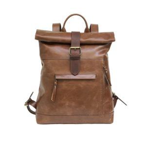 Samirah -Zunsh Unisex leather Backpack