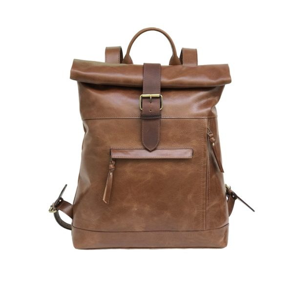 Samirah -Zunsh Unisex leather Backpack
