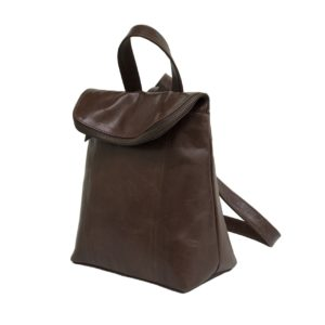 zunash leather unisex backpack