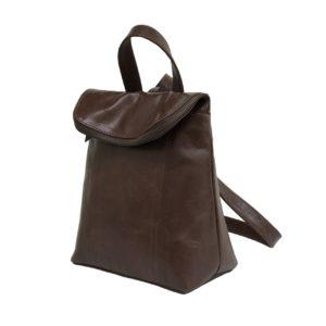 zunash leather unisex backpack