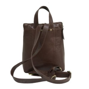 Zunash Leather unisex Backpck