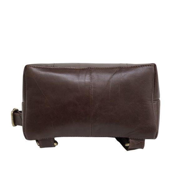 Zunash Leather unisex Backpck