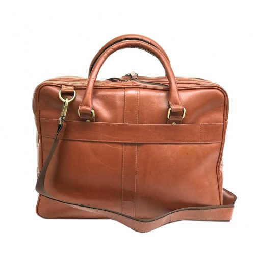 Zunash Leather Laptop Bag