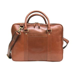 Zunash Leather Laptop Bag
