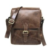 Zunash Leather-Messenger-Sling-ZSB-0127-U-BN